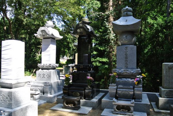 真壁小目石 クンナム 大名墓