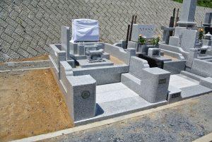茨城県産 稲田石 お墓
