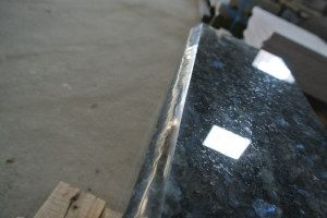 ノルウェー産御影石 ブルーパール