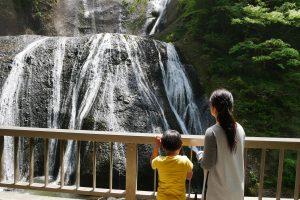茨城県大子町 袋田の滝