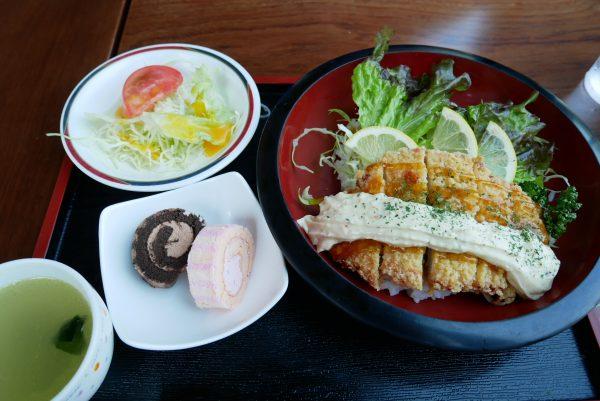 アンモナイト丼 茨城県自然博物館