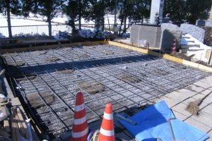 お墓の基礎工事 基礎砕石