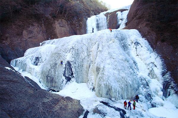 茨城県大子町 袋田の滝 氷瀑