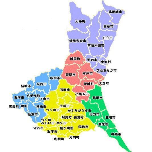 茨城県 地図