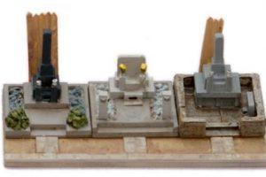お墓の模型セット ジオラマ