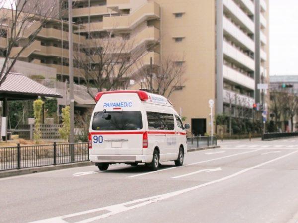 熱中症対策 現場 救急車