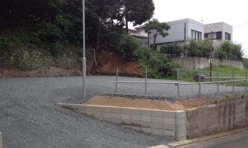砕石 C-40 駐車場 庭
