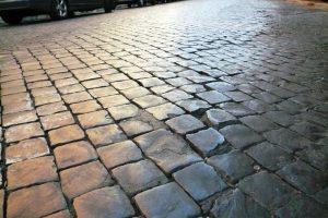 ローマ 石畳