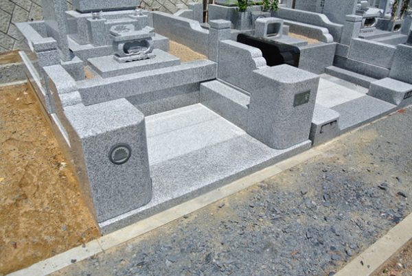 茨城県産 稲田石 お墓 墓石
