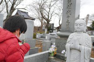 お墓参り 母方