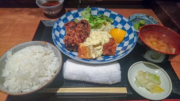 揚げ鶏と水炊き 森川 銀座 唐揚げ