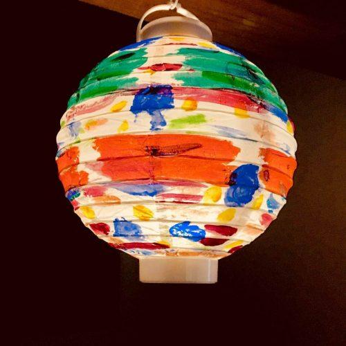 生田化研社 墓詣で オリジナル提灯
