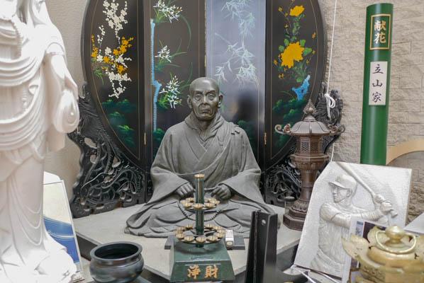 親鸞聖人 銅像 老子製作所