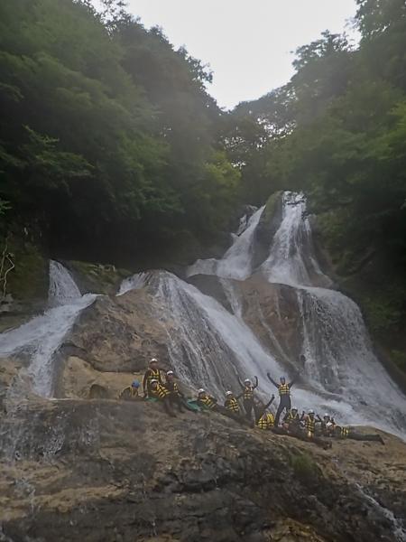 シャワークライミング 栃木県日光