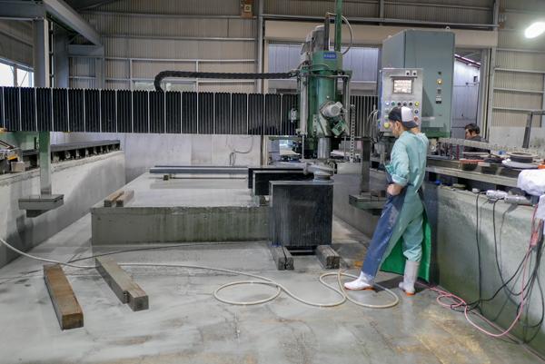 福島県産 浮金石 加工