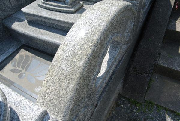 石の劣化 サビ G688H