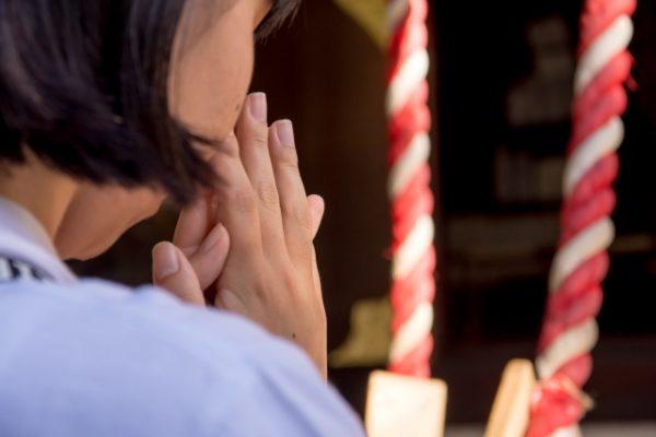 祈り 神社