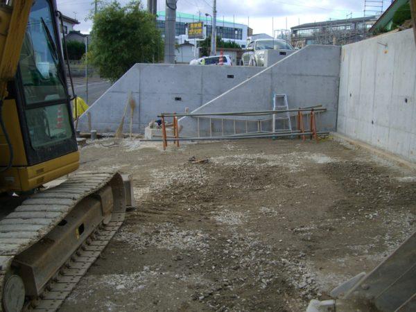 現場打ちコンクリート 階段