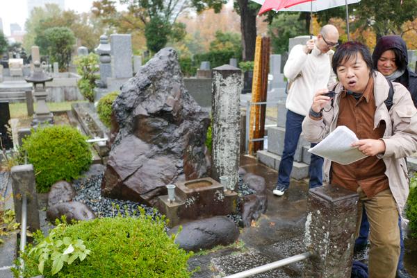 青山霊園 墓マイラー カジポン
